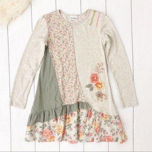 Naartjie | Girls Floral Tunic Top /  Dress